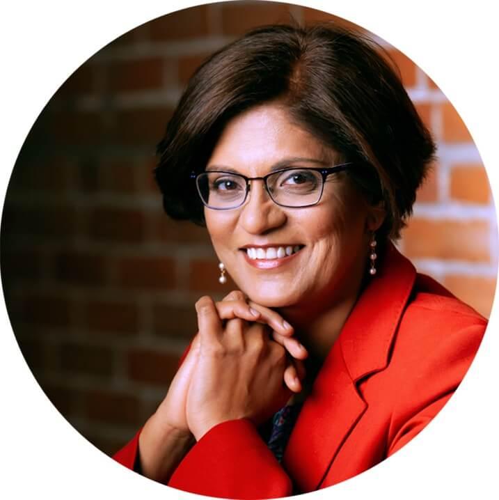 Dr Geeta Lal Surgeon Ergonomics headshot circle